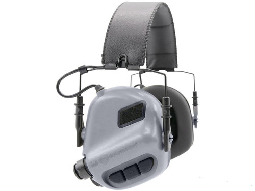 OPSMEN Earmor M32 Electronic Sound Amplifying Hearing Protector (Color: Cadet Grey)