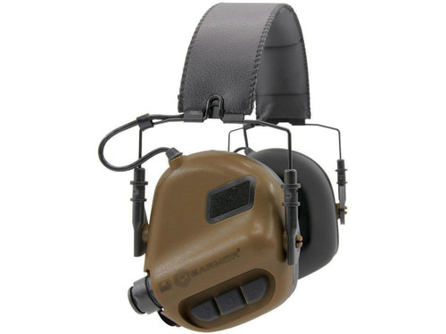 OPSMEN Earmor M32 Electronic Sound Amplifying Hearing Protector (Color: Coyote Brown)