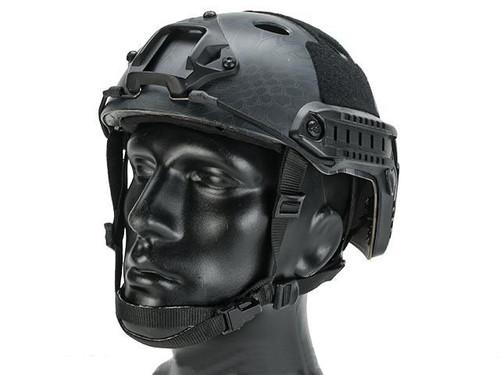 Emerson Bump Type Tactical Airsoft Helmet (Type: PJ / Advanced / Kryptek Typhone / Large - Extra-Large)