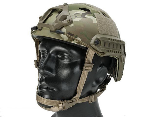 Emerson Bump Type Tactical Airsoft Helmet (Type: PJ / Advanced / Multicam / Large - Extra-Large)