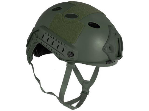 6mmProShop Bump Type Tactical Airsoft Helmet (Type: PJ / Advanced / OD Green / Large - Extra-Large)