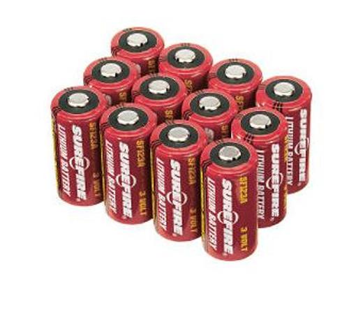 SureFire 12 123A Lithium Batteries -Single Battery