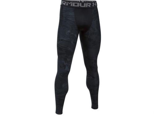 Under Armour UA Freedom HeatGear® Compression Leggings (Size: Black Tonal Reaper - Large)