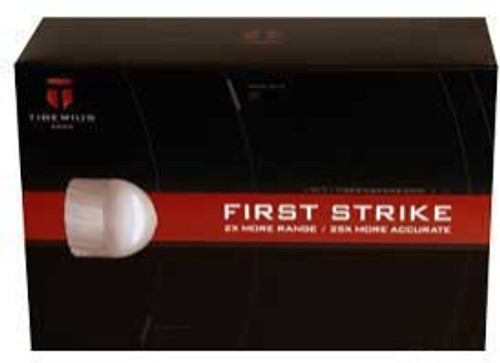 Tiberius Arms First Strike Paintball Rounds (100 Rounds) - White