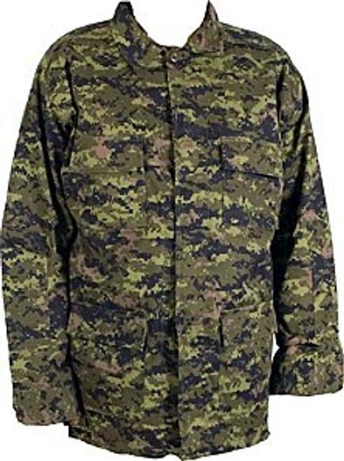 Canadian Military Style 4 Pocket Shirt - Canadian Digital