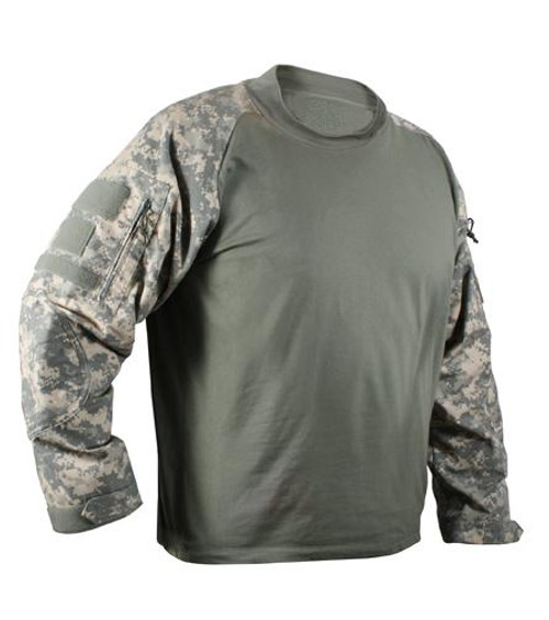 06120425 Rothco Military Combat Shirt - Desert Digital - Hero Outdoors