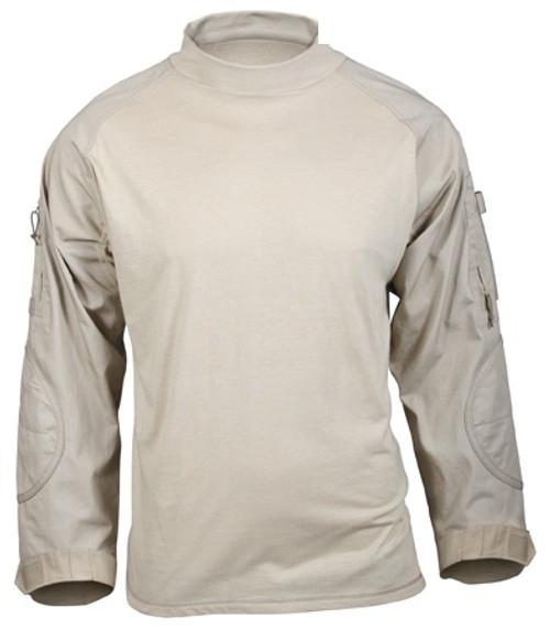 Rothco Combat Shirt - Desert Sand