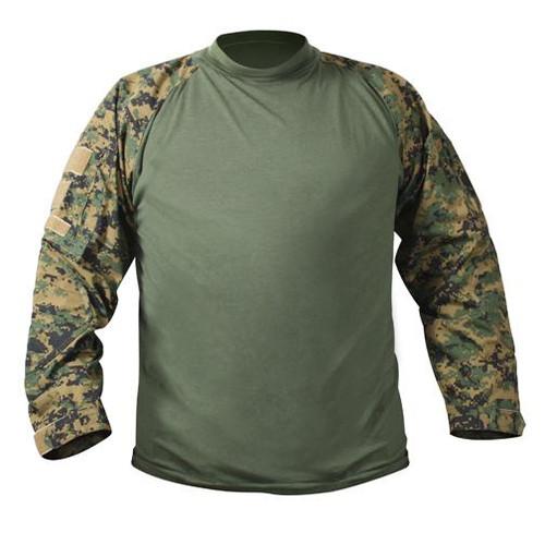 Rothco Combat Shirt - Woodland Digital