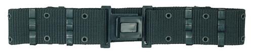 G.I. Style Nylon Q.R. Pistol Belt - Black