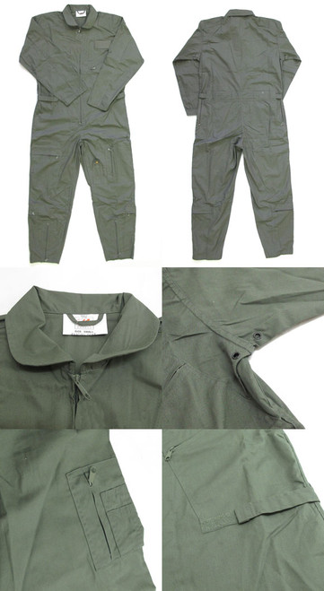 Air Force Style Flight Suit - Foliage Green