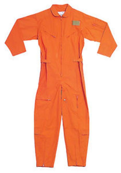 Air Force Style Flight Suit - Orange