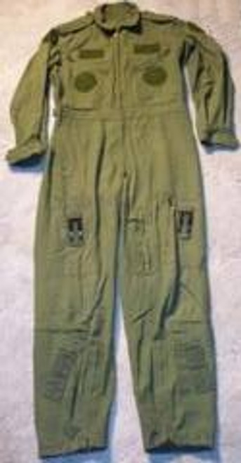 Canadian Armed Forces Flight Suit Used - Olive Drab