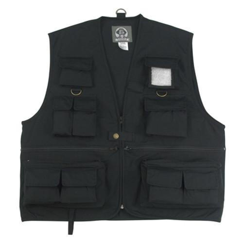 Uncle Milty Travel Vest - Black