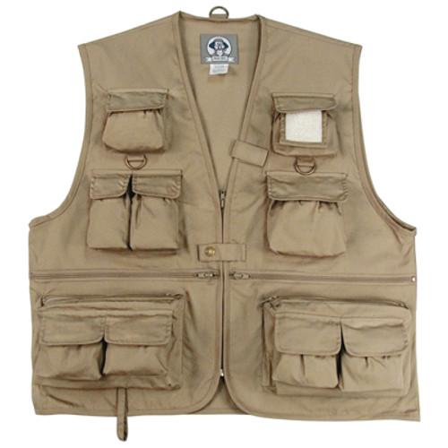 Uncle Milty Travel Vest - Khaki