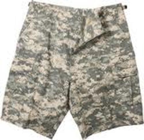 Military Cargo Shorts - ACU Digital