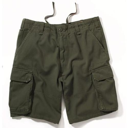Vintage Cargo Shorts - Olive Drab
