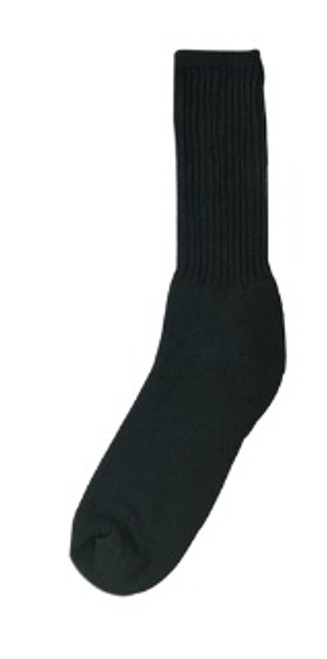 Athletic Crew Socks - Black