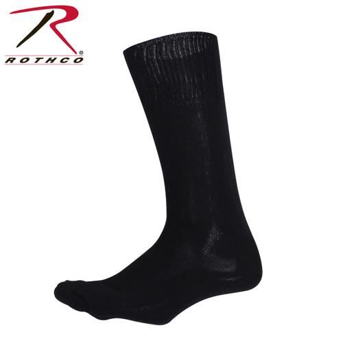 GI Type Cushion Sole Socks - Black