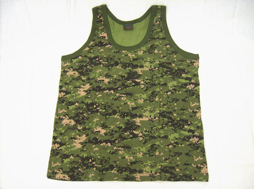 Camouflage Tank Top - Canadian Digital
