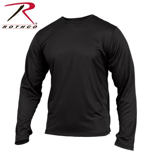 Gen III Silk Weight Underwear Top - Black