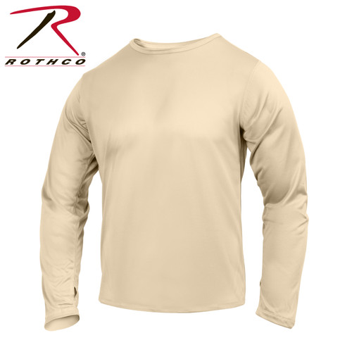Gen III Silk Weight Underwear Top - Sand