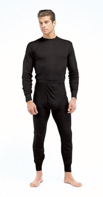 Performance Poly Thermal Underwear Bottom - Black