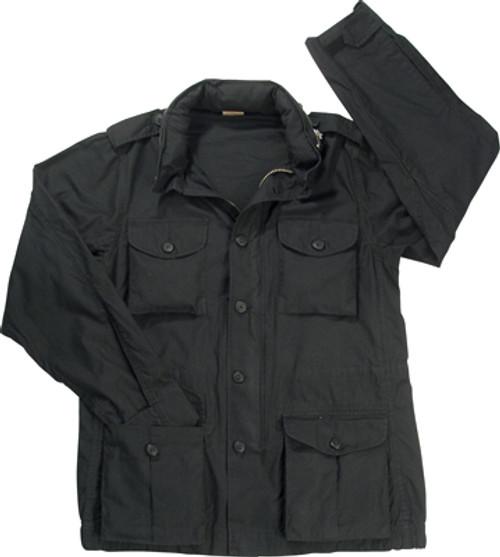 M-65 Vintage Lightweight Jacket - Black