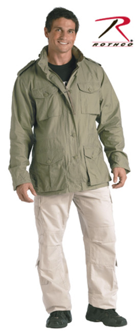 M-65 Vintage Lightweight Jacket - Sage