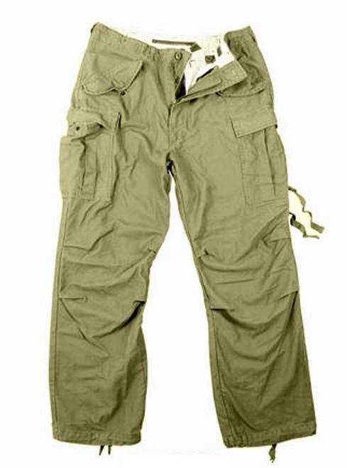Vintage M-65 Field Pants - Olive Drab