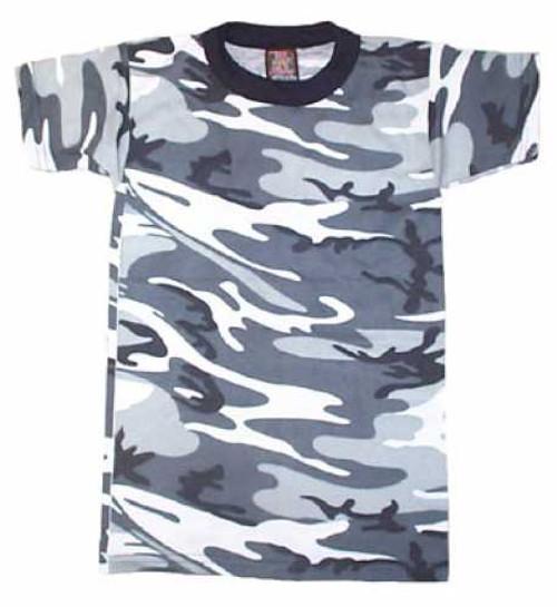 Junior G.I. Camo T-Shirt - City Camo