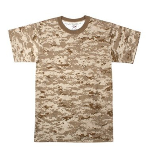 Junior G.I. Camo T-Shirt - Desert Digital Camo