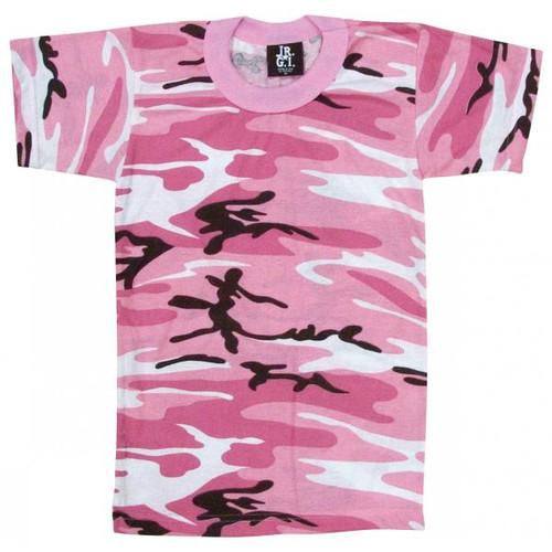 Junior G.I. Camo T-Shirt - Pink Camo