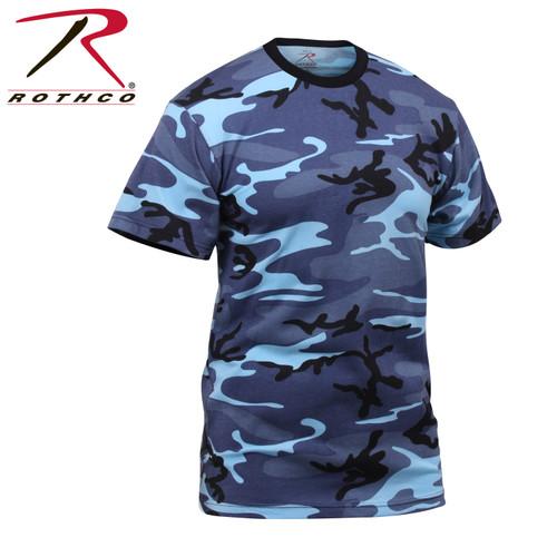 Junior G.I. Camo T-Shirt - Sky Camo