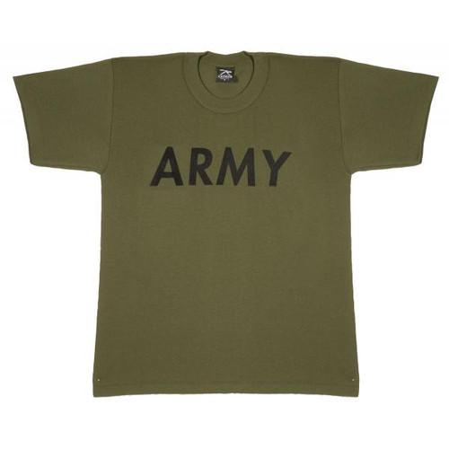 Junior G.I. T-Shirt - Olive Drab Army