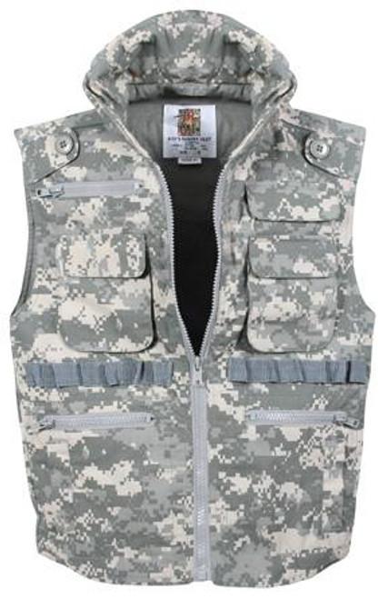Kid's Rothco Ranger Vest - ACU