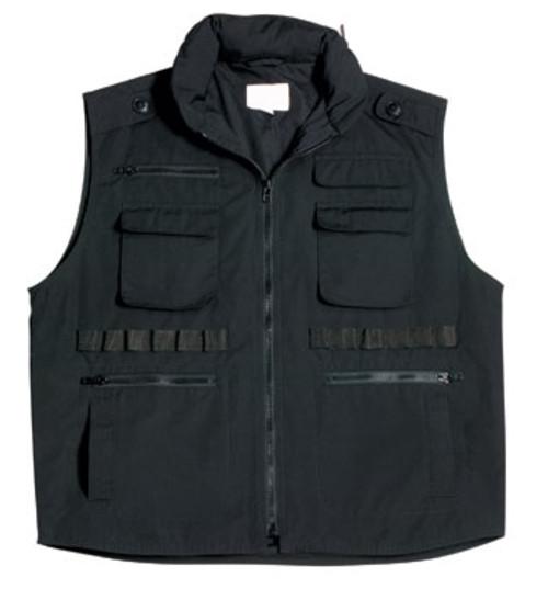 Kid's Rothco Ranger Vest - Black