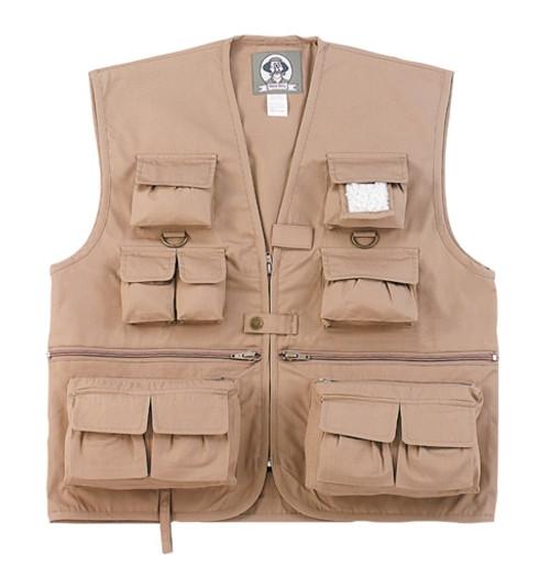 Uncle Milty's Kid's Travel Vest - Khaki