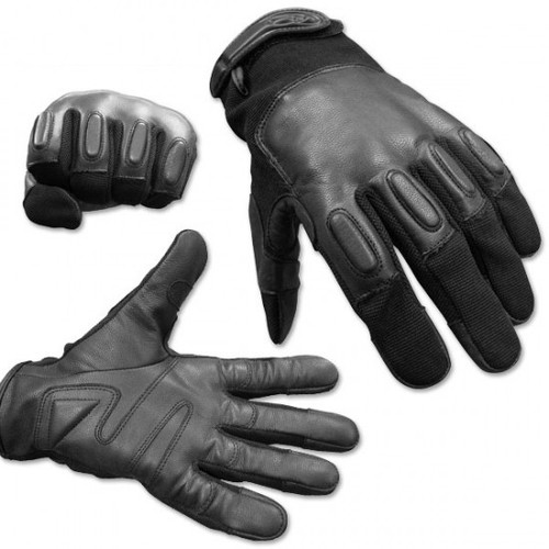 Leather SAP Gloves w/Protective Knuckles