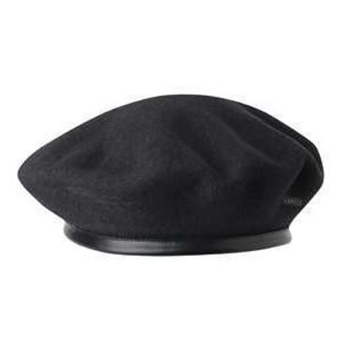 Beret - Monty Wool Black