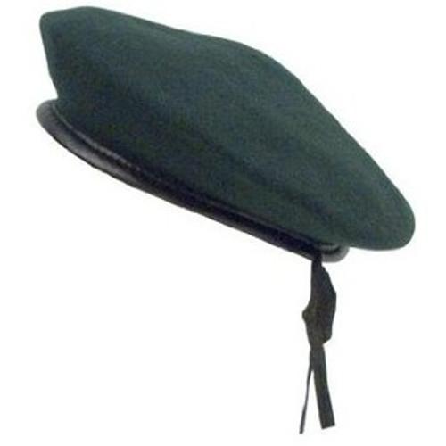 Beret - Monty Wool Green