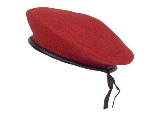 Beret - Monty Wool Red
