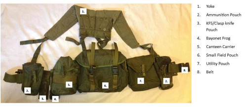 Canadian Armed Forces '82 Pattern Load Bearing  Web Set