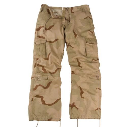 Women's Vintage Paratrooper Pants - Desert Camo