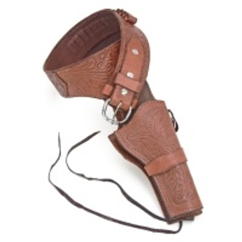 Holster - Deluxe Tooled - Brown