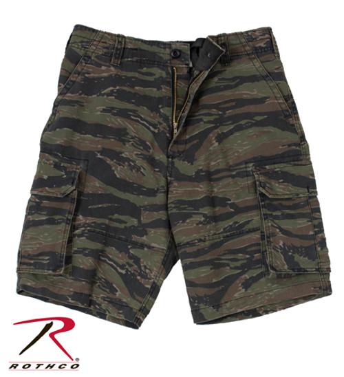 Vintage Paratrooper Shorts - Tiger Stripe