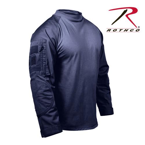 Rothco Combat Shirt - Navy Blue