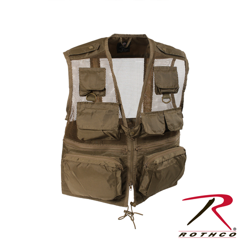 Rothco Tactical Recon Vest - Coyote Brown