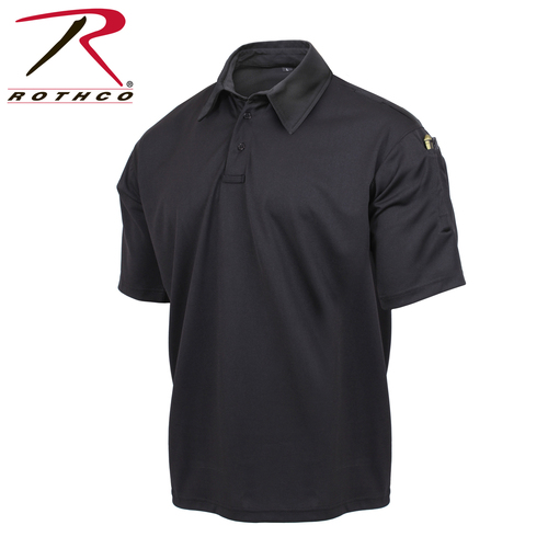 Tactical Performance Polo Shirt - Black