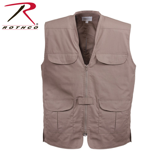 Lightweight Professional Concealed Carry Vest - Khaki