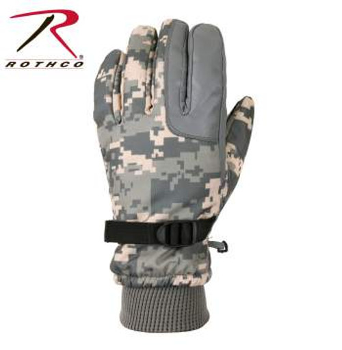 Rothco Cold Weather Military Gloves - ACU